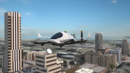 Ilustración de cómo podría ser el UAV de pasaje que está desarrollando Aurora Flight Sciences.