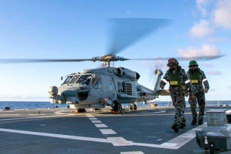 Sikorsky MH-60R de la Marina de Australia.