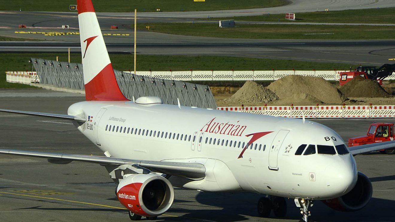 Airbus A320 de Austrian Airlines.