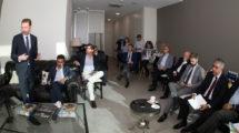 Encuentro organizado por Fly News con los impulsores de la asociación.