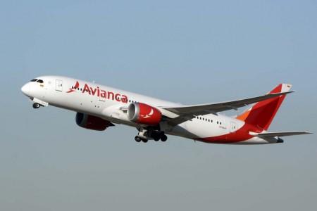 Avianca cuenta con ocho Boeing 787 con los que vuela a Europa, Estados Unidos y Latinoamérica.