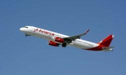 Avión de la compañía; Avianca A321