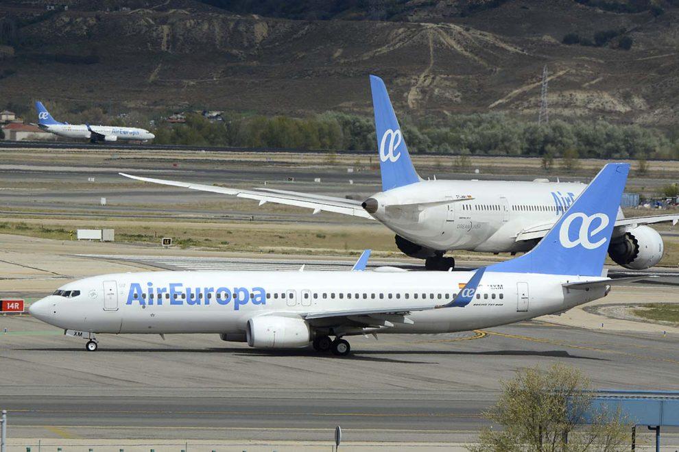 Los pilotos de Air Europa trabajarán al menos diez días al mes.