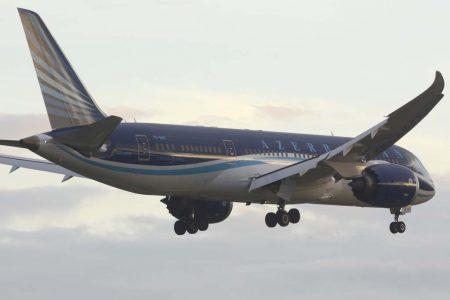 Azerbaijan Airlines ya opera dos Boeing 787-8.