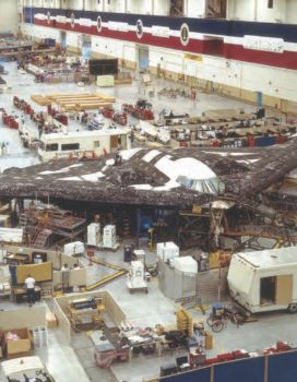 Northrop Grumman montará los B-21 en las mismas instalaciones donde produjo el B-2.