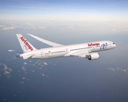 Air Europa tiene pedidos 22 Boeing 787, 9 del modelo -8 y 14 del -9
