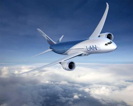 LAN Chile recibe hoy su primer B-787