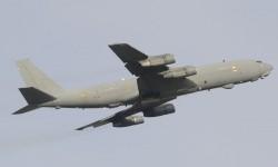 Tras la avería del B-707 cisterna tuvo que despegar el Boeing 707 electrónico