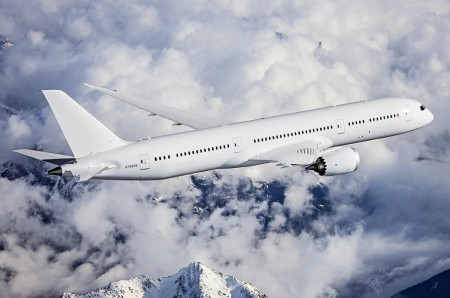 Primer Boeing 787 Dreamliner con motores general Electric GEnx