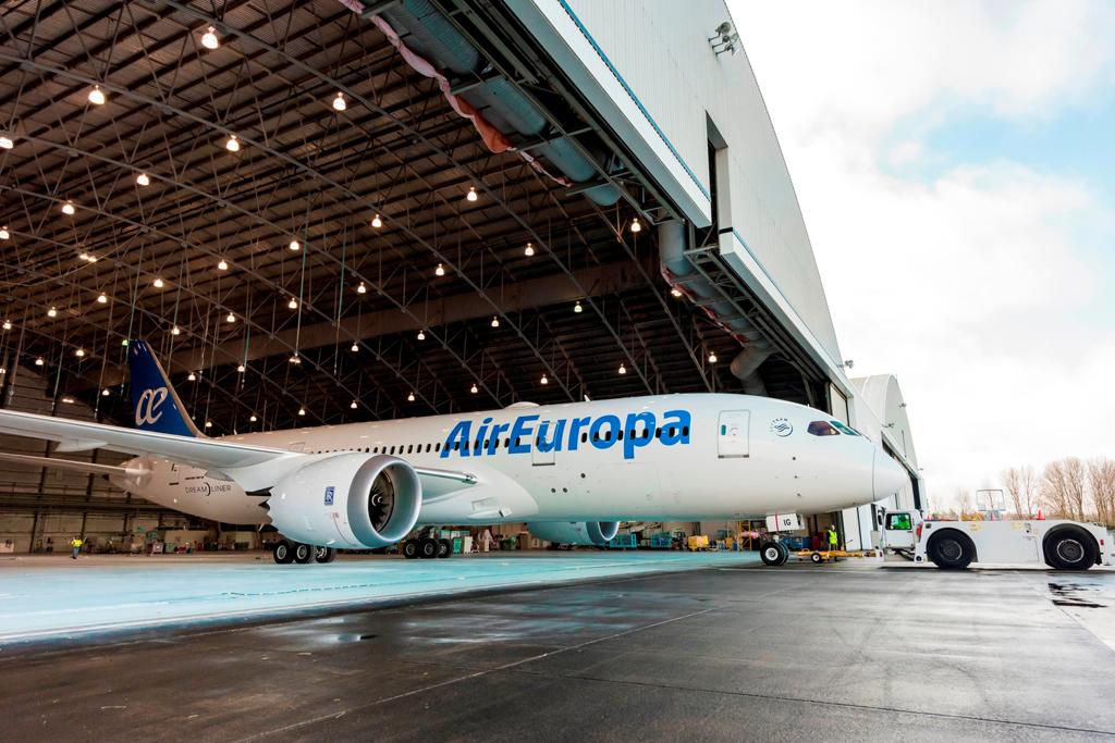 Air Europa ha recibido su tercer Boeing 787 e incorpora Santo Dominga a las rutas servidas por el Dreamliner
