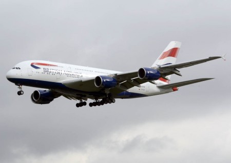 Airbus A380 de British Airways.