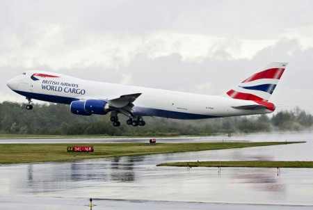 Boeing 747-8F de British Airways