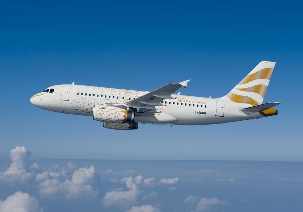 Airbus A319 olímpico