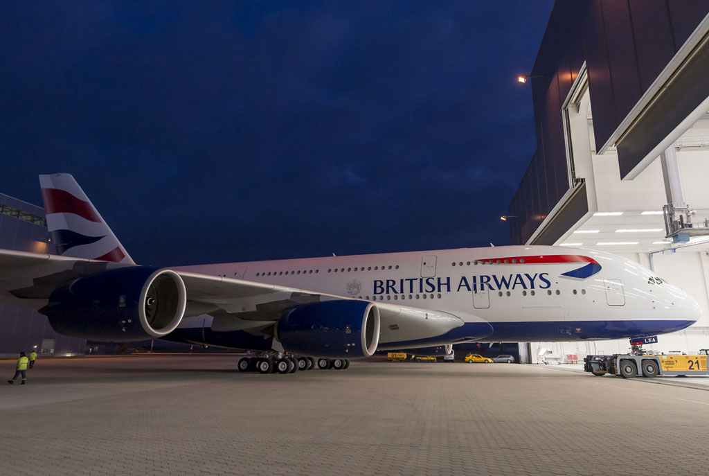 Primer Airbus A380 de British Airways