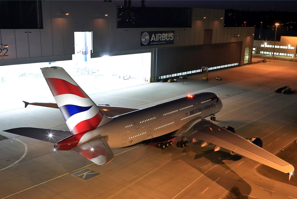Airbus A380 de British Airways