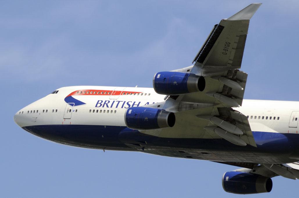 Boeing 747 de British Airways
