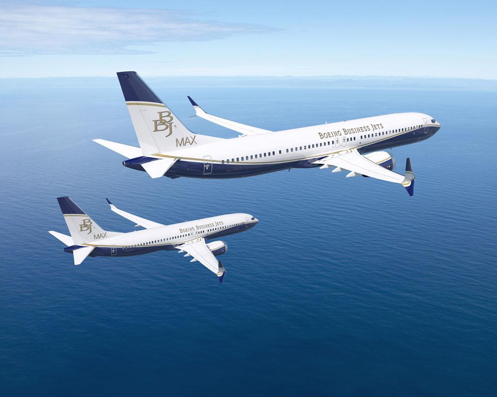 Boeing 737MAX BBJ