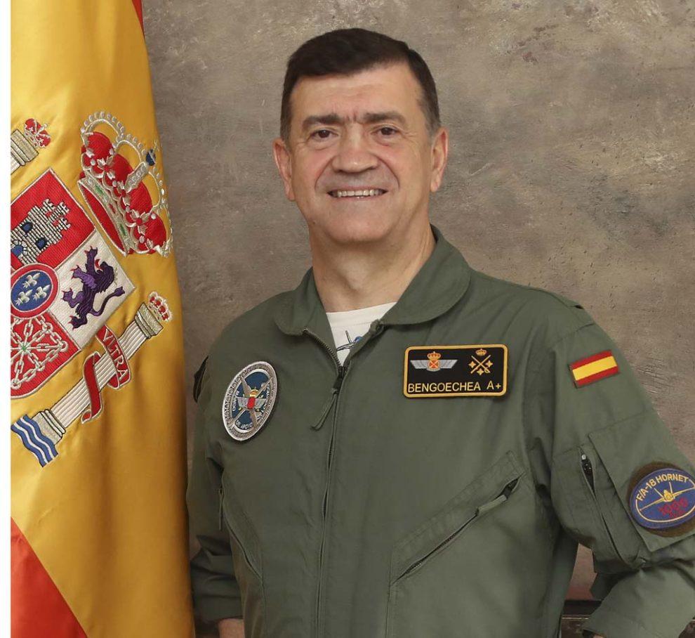 Teniente General Ignacio Bengoechea Martí, jefe del mando de Apoyo Logístico.