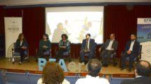 """La presentación de la convocatoria de BFAero estuvo precedida de una mesa redonda sobre """"Nuevos escenarios de emprendimiento""""."""