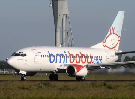Boeing 737 de BMI Baby