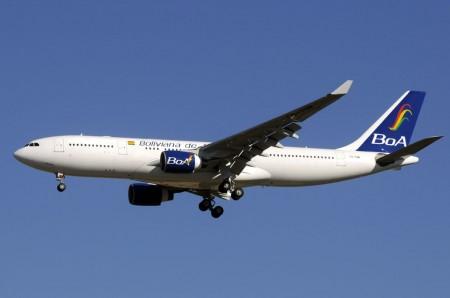 Airbus A330 de Boliviana de Aviación