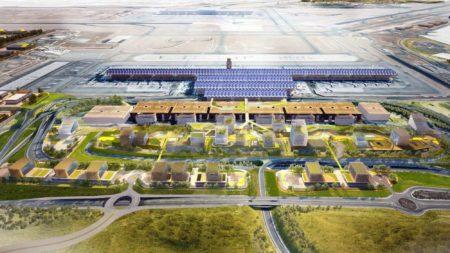 Junto a la T4 se construirán oficinas, hoteles y otras infraestructuras, Aena y Enaire trasladarán sus sedes sociales a esta zona.