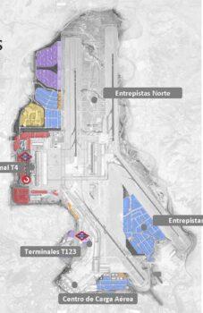 El plan inmobiliario del aeropuerto de Madrid-Barajas se extiende hasta el año 2060.
