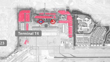 El polo empresarial será accesible andando desde la T4.