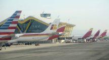 De 25.744.475 viajeros que pasaron en junio por los aeropuertos de la red de Aena, 18.454.976 viajaron en vuelos internacionales, el 71,69 por ciento.