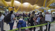 El aeropuerto de Madrid-Barajas durante la pandemia del COVID-19.q