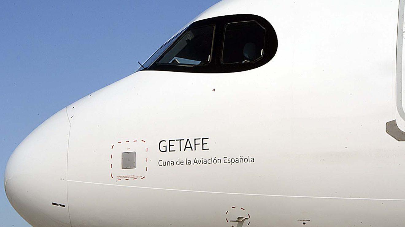 Iberia ha adoptado el marco negro de los A350 para las ventanas de los pilotos de sus A320neo.