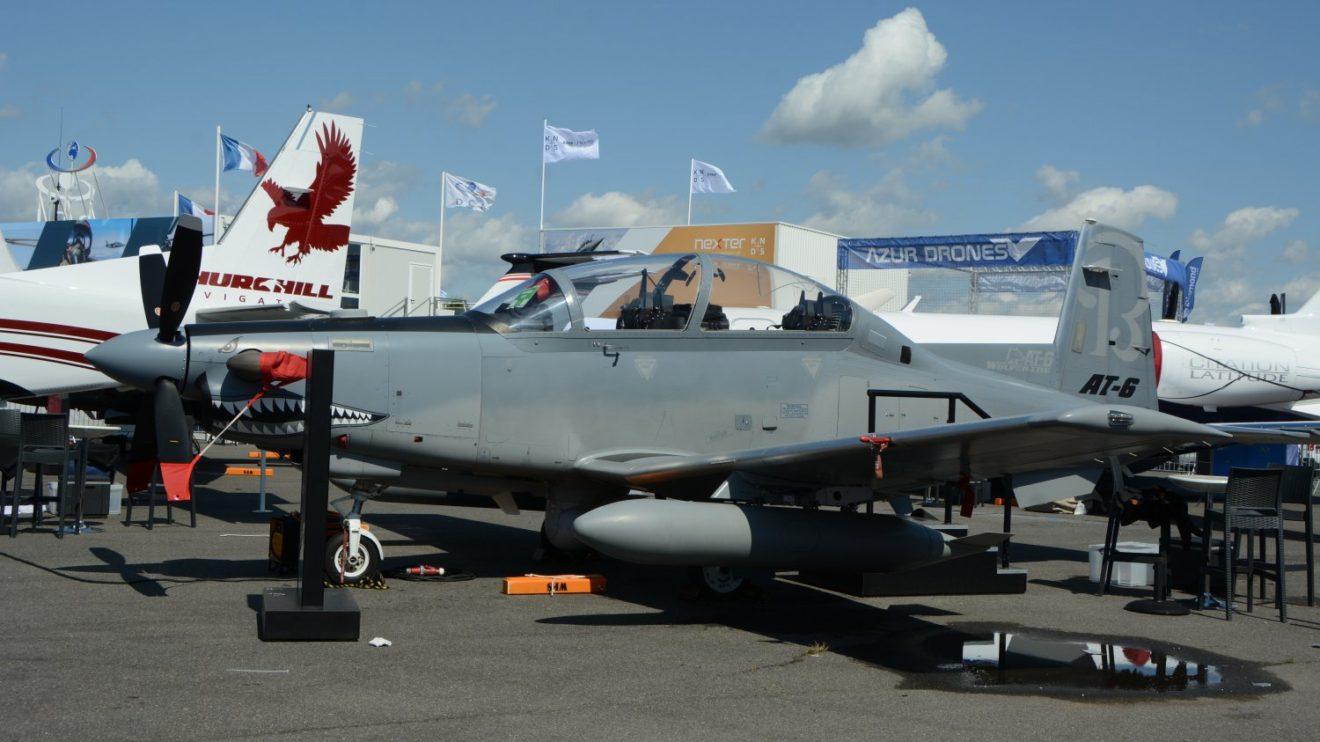 Beechcraft AT-6.