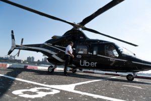 Heliflite a añadido títulos de Uber a los Bell 430 con los que presta el servicio entre Manhattan y el aeropuerto J.F. Kennedy para esta.