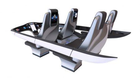 Bell considera que su experiencia en el transporte de pasajeros en ciudades por vía aérea les concede un plus a la hora de diseñar la nueva generación de aero taxis sin piloto.