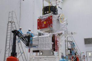 Preparación del BepiColombo para su lanzamiento.