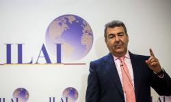 Carlos Bertomeu, presidente de Air Nostrum y socio de ILAI durante la presentación de la sociedad.