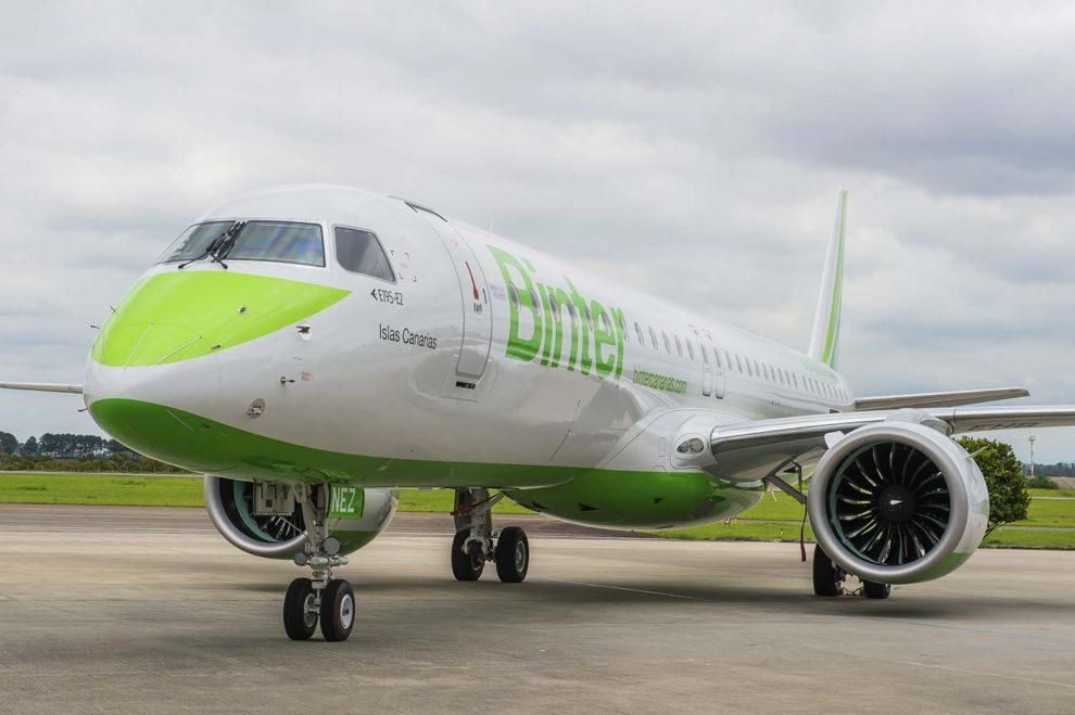 EC-NEZ, primer Embraer E195-E2 de Binter Canarias.