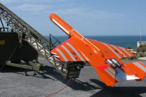 Blanco aéreo Scrab II, uno de los diferentes modelos que fabrica SCR.