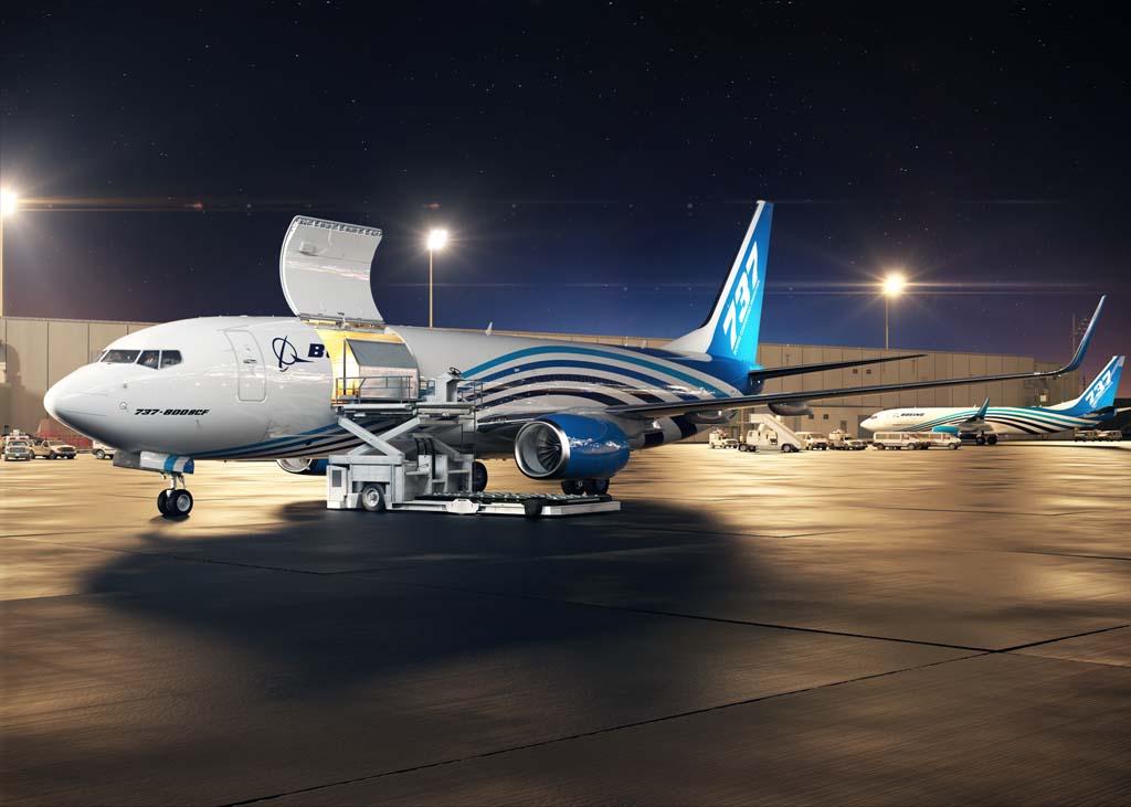 Boeing ve en China el mayor mercado para la nueva conversión a carguero del B-737-800.