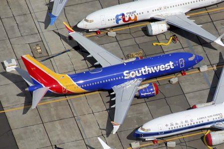 Boeing 737 MAX 7 de Southwest.