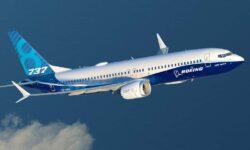 Boeing 737 MAX 8 con colores de Boeing