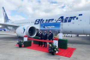 La rumana Blue Air recibió su primer Boeing 737 MAX el 30 de abril.