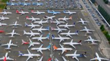 Boeing entregó unos 40 B-737 MAX antes del final de 2020.