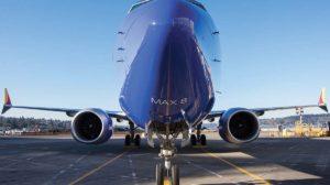Frontal del Boeing 737 MAX,, con los sensores de ángulo de ataque que activaban el MCAS.