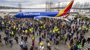 Entre los hitos de 2018 para Boeing estuvo la entrega del B-737 número 10.000 el 134 de marzo.