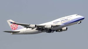 Boeing 747 de China Airlines (Taiwan).