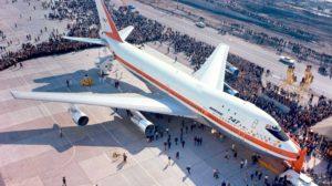 30 de septiembre de 1965. presentación mundial del Boeing 747.