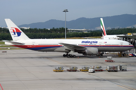 Boeing B-777-200ER de Malaysia Airlines