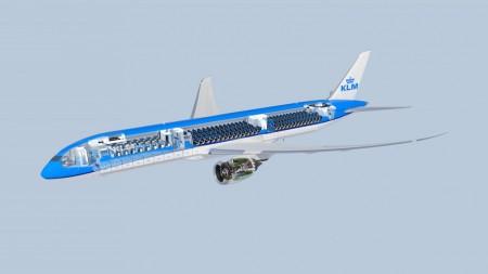 KLM ofrece una nueva clase ejecutiva en sus Boeing 787.