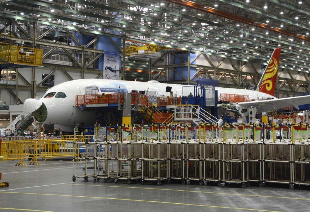 En los primeros nueve meses de 2018 Boeing ha hecho entrega de 568 aviones comerciales